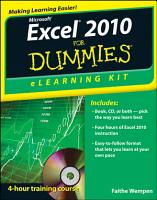Excel 2010 eLearning Kit For Dummies PDF