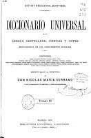 Diccionario universal de la lengua castellana PDF