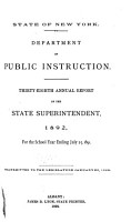 Annual Report of the State Superintendent of Public Instruction PDF