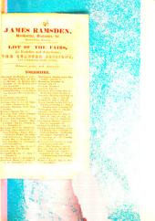 List of the fairs, in Yorkshire and Lincolnshire. The quarter sessions [&c.]. Delivered gratis, with almanacks: Volume 21