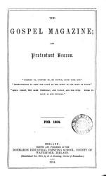 The Gospel Magazine And Theological Review Ser 5 Vol 3 No 1 July 1874 Book PDF