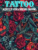 Tattoo Adult Coloring Book PDF