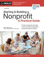 Starting & Building a Nonprofit: A Practical Guide, Edition 7