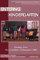 Entering kindergarten PDF
