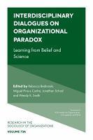 Interdisciplinary Dialogues on Organizational Paradox PDF