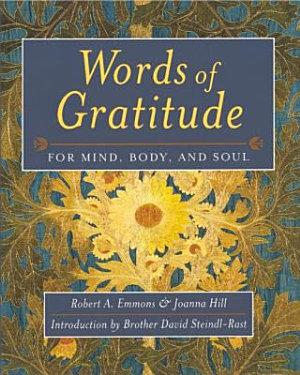Words Of Gratitude Mind Body   Soul