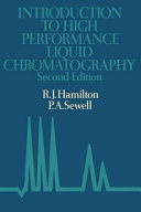 Introduction to high performance liquid chromatography