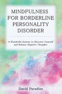 Mindfulness for Borderline Personality Disorder Book