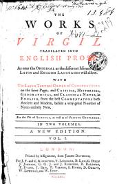 The Works Translated Into English Prose, with the Latin Text and Order of Construction ...