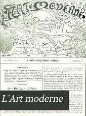 L'Art moderne: Volume25