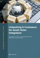 Unleashing E Commerce for South Asian Integration PDF