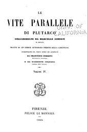 Le vite parallele di Plutarco: Volume 4
