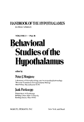 Behavioral Studies of the Hypothalamus