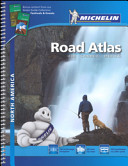 USA. Canada. Mexico. Road Atlas