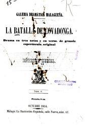 La batalla de Covadonga : drama
