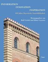 Information   Innovation   Inspiration PDF