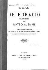 Odas de Horacio