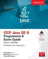 OCP Java SE 8 Programmer II Exam Guide  Exam 1Z0 809  PDF