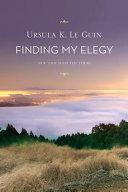 Finding My Elegy Book