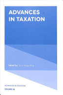 Advances in Taxation PDF