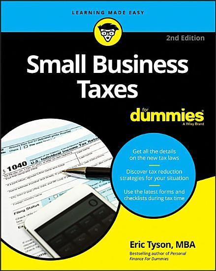Small Business Taxes For Dummies PDF