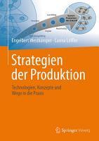 Strategien der Produktion PDF