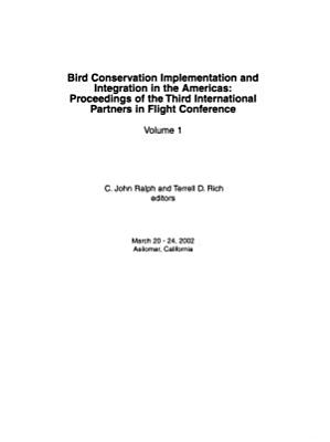 Bird Conservation Implementation and Integration in the Americas