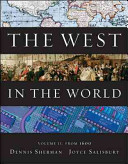 The West in the World  Volume II  From 1600 Book