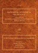 Functional Neurological Disorders