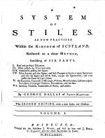 A System of Stiles