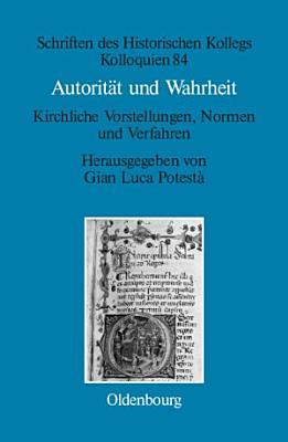 Autorit  t und Wahrheit PDF