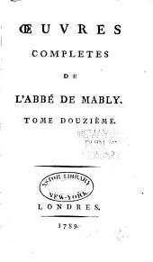 Œuvres complètes: Volume12