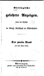 Göttingische gelehrte Anzeigen: Band 2