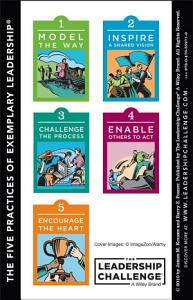 The Leadership Challenge Workshop Card  4e  Side A   The Ten Commitments of Leadership  Side B   The Five Practices of Exemplary Leadership Book