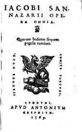 Opera omnia [latine scripta]