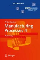 Manufacturing Processes 4 PDF