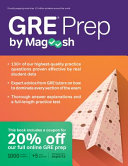 GRE Prep by Magoosh Book
