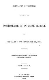 Treasury Decisions Under Internal Revenue Laws of the United States: Volume 4