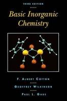Basic Inorganic Chemistry PDF