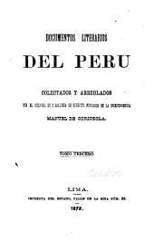Coleccion de documentos literarios del Peru: Volúmenes 3-5