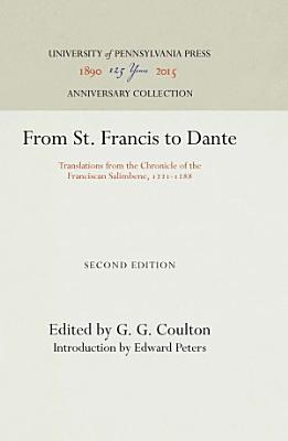 From St  Francis to Dante