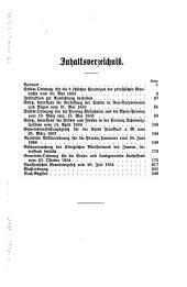 Die städeordnungen der preussischen monarchie...: sowie die gemeinde-ordnung für die stadt- und landgemeinden Kurhessens vom 23. Oktober, 1834, und das Nassauische gemeindegesetz vom 26. Juli, 1854
