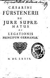 De jure suprematus ac legationis principum Germaniae