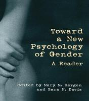 Toward a New Psychology of Gender PDF