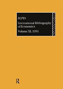 International Bibliography of Economics PDF