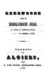 Iets over Algiers: voor de meergevorderde jeugd