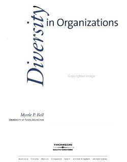 Diversity in Organizations PDF
