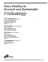 Case Studies in General and Systematic Pathology PDF