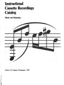 Instructional Cassette Recordings Catalog PDF