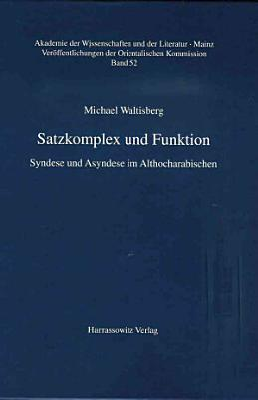 Satzkomplex und Funktion PDF